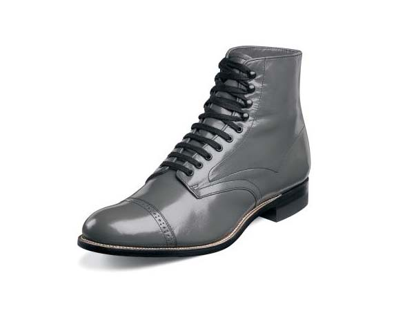 Grey Stacy Adams Dress Shoes